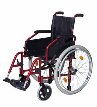 Silla de ruedas plegable de aluminio discovery - Silla ruedas plegable ...